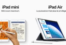 iPad mini et iPad Air